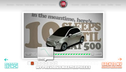 Fiat 500 launch game